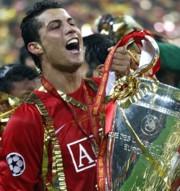Cristiano Ronaldo a BL-serleggel