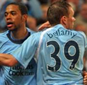 Robinho és Craig Bellamy