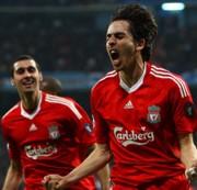 Yossi Benayoun öröme a gólja után