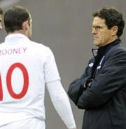 Fabio Capello és Wayne Rooney