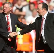 Sir Alex Ferguson és Rafa Benitez