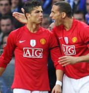 Cristiano Ronaldo és Rio Ferdinand