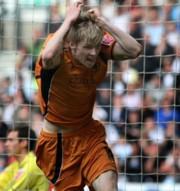 A győztes gólt szerző Andy Keogh