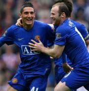 Federico Macheda és Wayne Rooney