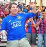 Egy Manchester United-szurkoló