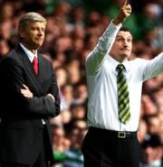 Arsene Wenger és Tony Mowbray