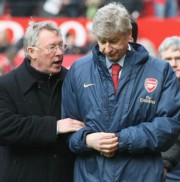 Sir Alex Ferguson és Arsene Wenger