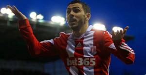 Stoke-v-Everton-Oussama-Assaidi-celeb_3059993